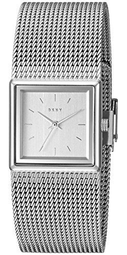 DKNY Women's 'Stonewall' Quartz Stainless Steel Casual Watch, Color:Silver-Toned (Model: NY2562)