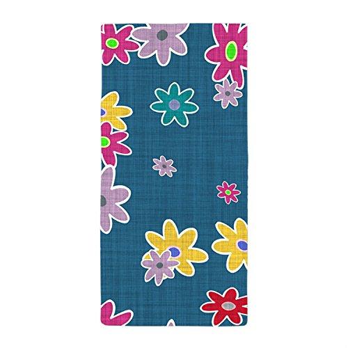 jesspad toalla de baño colorido flores fondo textura toallas de playa piscina de 24