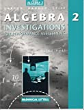 Algebra 2: An Integrated Approach, McDougal Littell, 0395879655