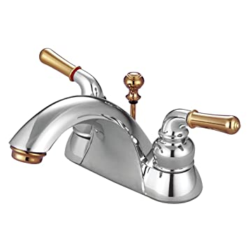 Elements Of Design St Charles Eb2624 Centerset Lavatory Faucet With