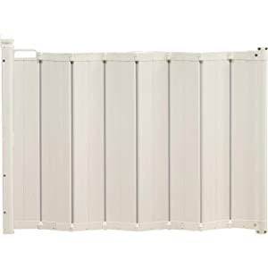 BabyDan Guard Me Wide 21.6 to 36.2 Inch Baby Safety Gate and Extend A Gate 9.5 Inch Extension Accessory, White