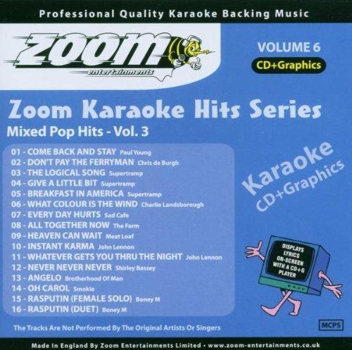 SMOKIE - Zoom Karaoke Cdg - Karaoke Hits 6 Mixed Pop Hits 3 By Zoom Karaoke - Zortam Music
