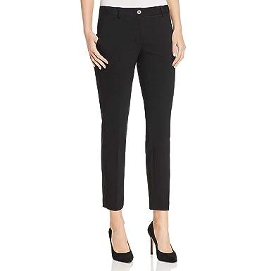 42081ba2b641 Image Unavailable. Image not available for. Color  MICHAEL Michael Kors  Womens Miranda Slim Leg Ankle Dress Pants Black 8
