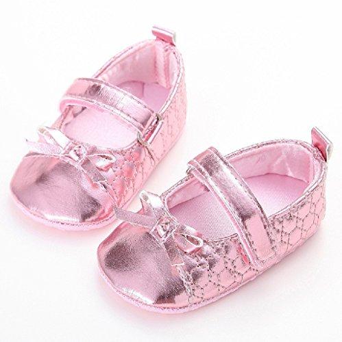 Lindos Prewalker auxma Suaves 18 Zapatos Meses La Por Rosado Princesa Bebé Bebés 3 Los De Únicos Antideslizantes 8YWCPfFnW