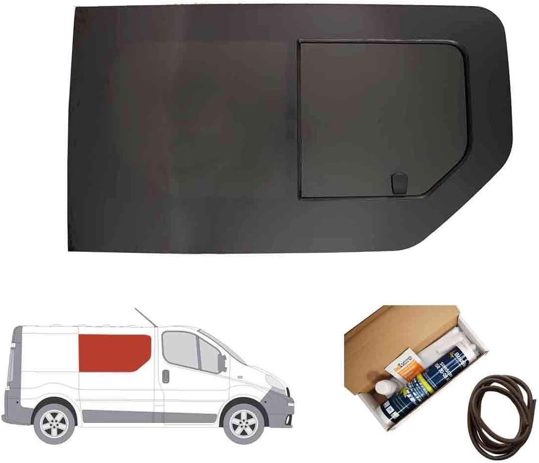 Mano derecha, tintado oscuro apertura ventana para Panel lateral OPP. Puerta Corredera Para Opel Vivaro (2001 – 2014): Amazon.es: Coche y moto