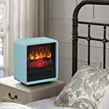Personal Fire Cube Energy Efficient Electric 4600-BTU Heater Fireplace