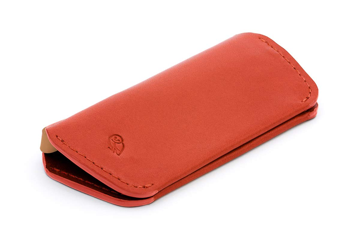 Bellroy Leather Key Cover Plus (Max. 8 keys) - Tangelo