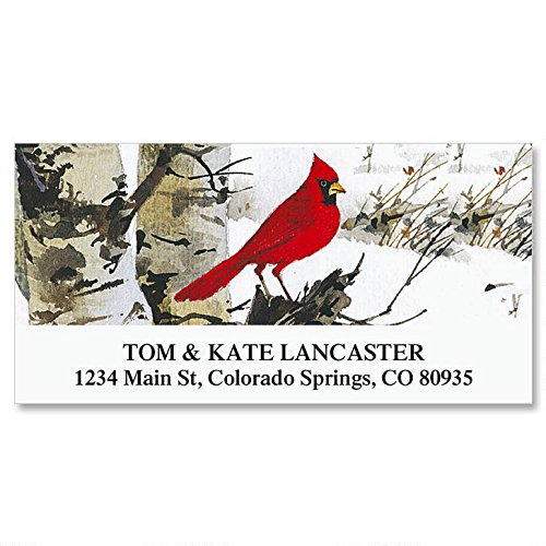 Cardinal Self-Adhesive, Flat-Sheet Deluxe Address Labels