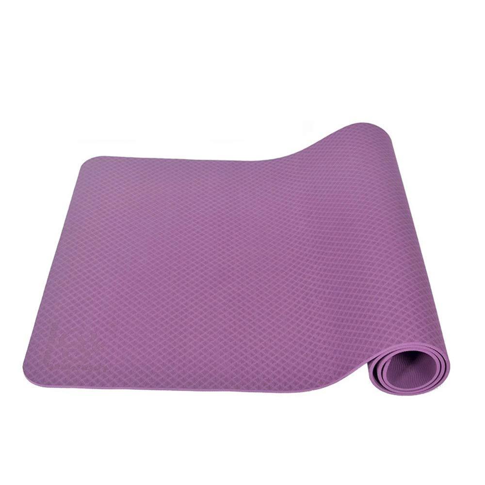 violet 8mm SUPREAN Yogamatte TPE Prougeection de l'environneHommest élargisseHommest Amélioré Antidérapant Résistant à l'usure Trois épaisseurs Taille 183  80cm