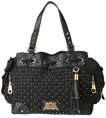 Juicy Couture Daydreamer YHRU3363-1 Shoulder Bag,Black,One Size, Bags Central