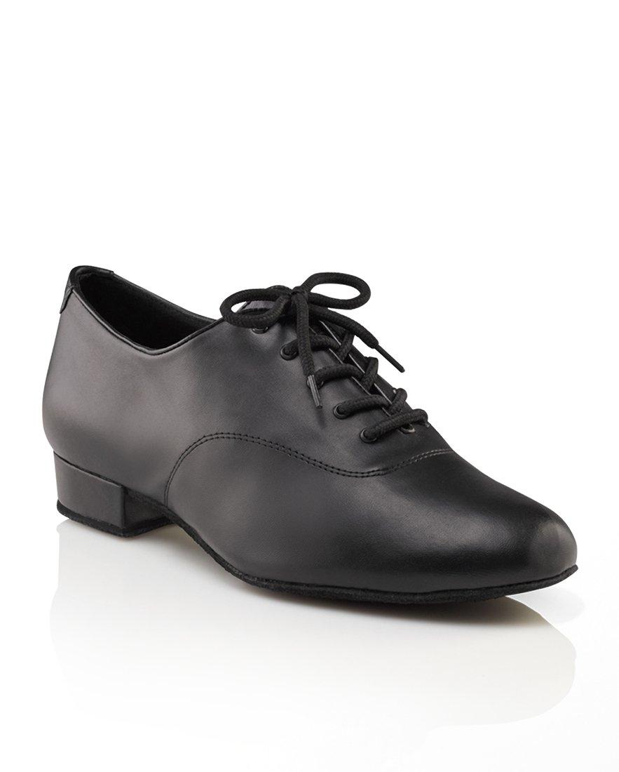 Capezio Men's 1'' Standard Ballroom Shoe,Black,7.5 W US by Capezio