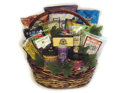 The Big Daddy Healthy Father's Day Gift Basket by Well Baskets