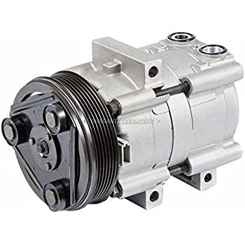 AC Compressor & A/C Clutch For Ford Focus 2003 2004 2005 2006 2007 - BuyAutoParts 60-01712NA NEW