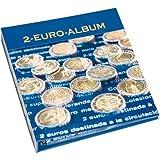Taschenalbum für Euro-Münzen, für 12 komplette Euro-Kursmünzensätze, blau