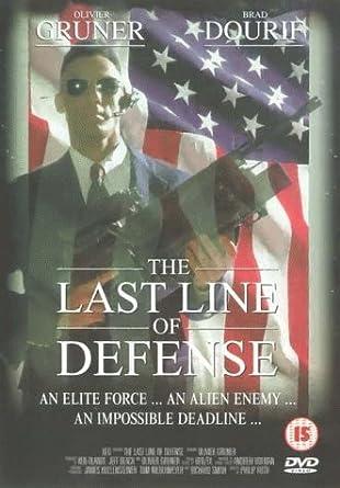 Last Line Of Defense >> The Last Line Of Defense Dvd 2000 Amazon Co Uk Olivier Gruner