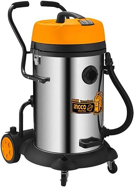 Ingco - Aspirador Industrial 75 Lts 2400W Vc24751: Amazon.es: Bricolaje y herramientas