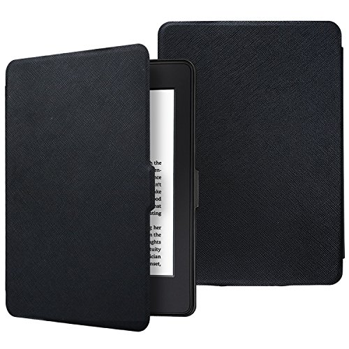 Aimerday Amazon Paperwhite Case Cover, Premium Thinnest Lightest PU Leather Magnetic Protective Cover for All-new Kindle Paperwhite with Auto Wake / Sleep (Fits All 2012, 2013, 2015 and 2016 Versions)
