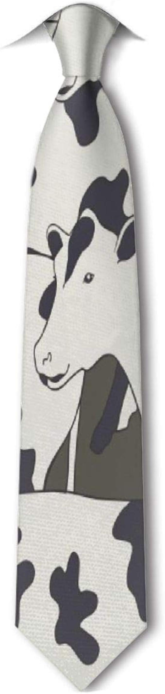 Xukmefat Patrón de vacas Corbata de hombre Hipster Corbatas ...
