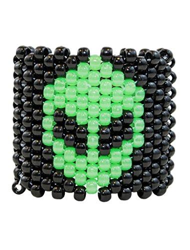 GLOW Alien Kandi Kandi Cuff Rave Bracelet