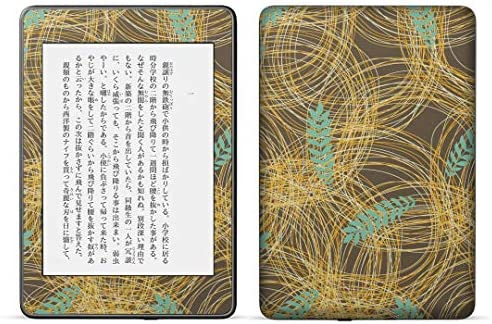 igsticker kindle paperwhite 第4世代 専用スキンシール キンドル ペーパーホワイト タブレット 電子書籍 裏表2枚セット カバー 保護 フィルム ステッカー 050064