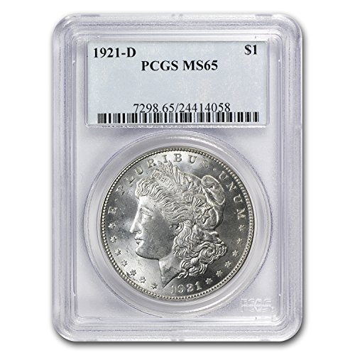 1921 D Morgan Dollar MS-65 PCGS $1 MS-65 PCGS