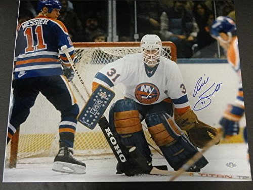 Billy Smith Islanders Signed 16x20 Photo Autographed Signature - Steiner Certified