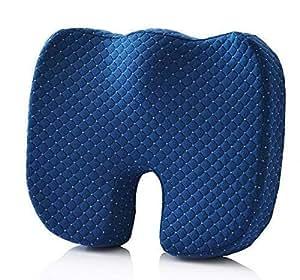 DXP care 45 * 35 * 8 cm Cojín Ergonómica ortopédica para coxis, aliva el