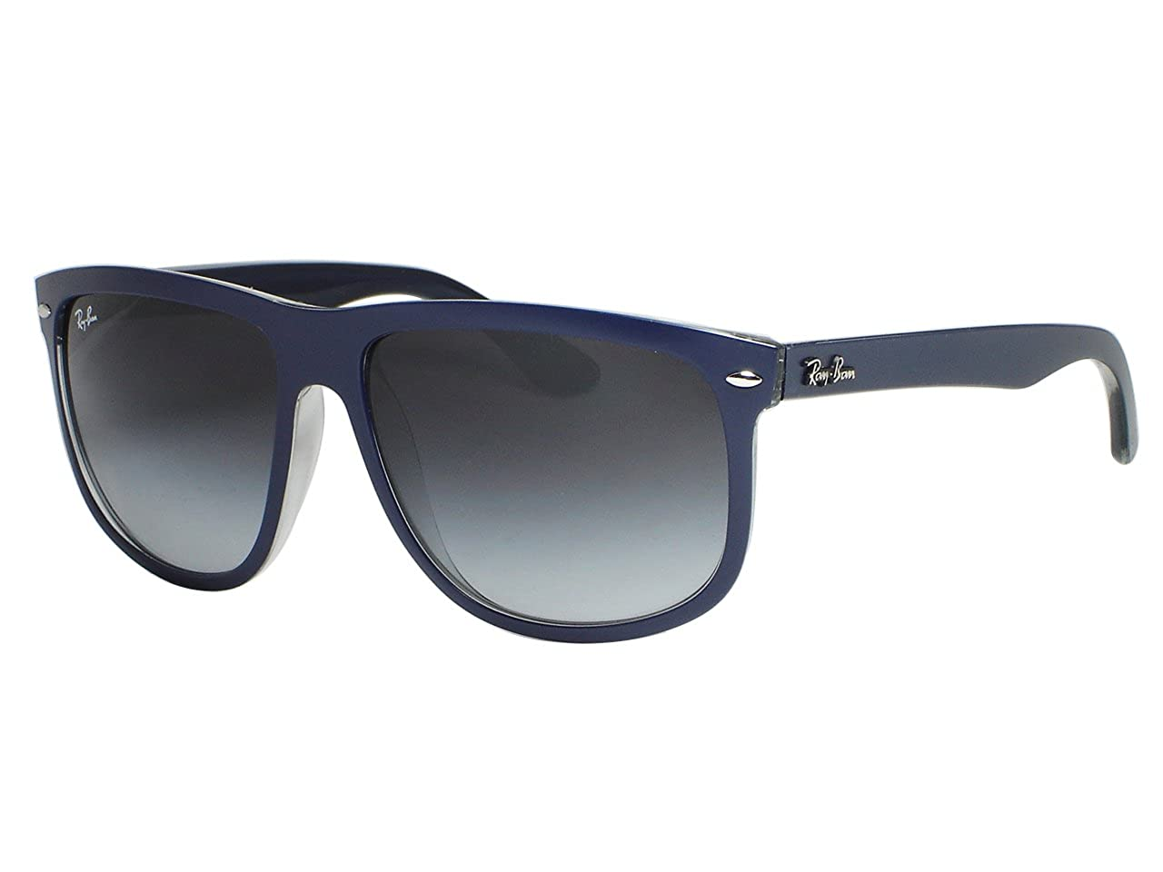 03aca7e2ff6 Ray Ban RB4147 6132 8G Top Matte Blue On Grey   Grey Gradient Sunglasses  60mm  Amazon.ca  Clothing   Accessories