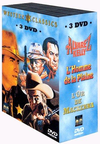 Western Classics - Coffret - Alvarez Kelly + L'homme de la plaine + L'or de Mckenna