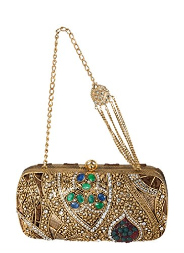 Opulent Intricately Detailed Clutch by Meera Mahadevia