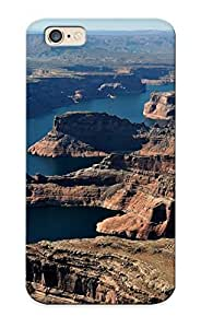 Artistgirl Case Cover For Iphone 6 - Retailer Packaging Nature Landscapes Mountains Canyon Ckiff Stone Rock River Lake Sky Scenic Protective Case