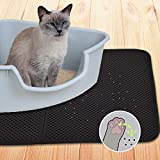 Dr. Prepare Cat Litter Mat, Double-Layer Foldable Waterproof Cat Litter Trapper- Medium
