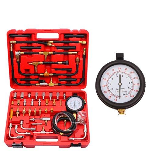 UPC 745780993165, BETOOLL Pro Fuel Injection Pressure Tester Kit Gauge 0-140 PSI