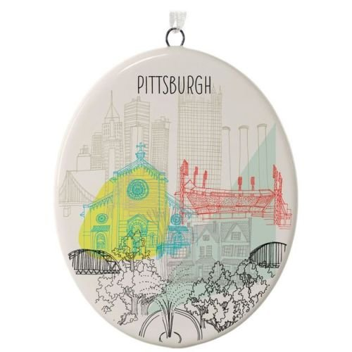 Hallmark Pittsburgh City Landmarks Ceramic - Canada Mail Priority Tracking
