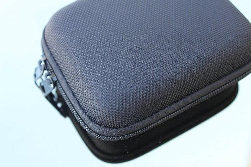 M&C Black Semi Hard Durable Camera Carrying Case for Kodak EasyShare C1530 14 MP Digital Camera