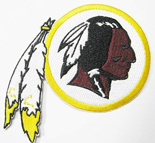 (NFL Washington Redskins Embroidered Patch Round Item 4