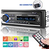 Car Stereo with Bluetooth, Huicocy In-Dash Single Din Car Radio Receiver,Car MP3 Player/USB/SD/AUX/FM Radio with Wireless Remote Control