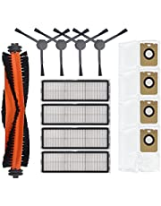 Huvudsidoborste, HEPA-filter, dammpåsar för Dreame Bot Z10 Pro L10 Plus dammsugartillbehör