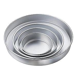 Amazon Com Wilton Performance Cake Pans Round Pan Set Of