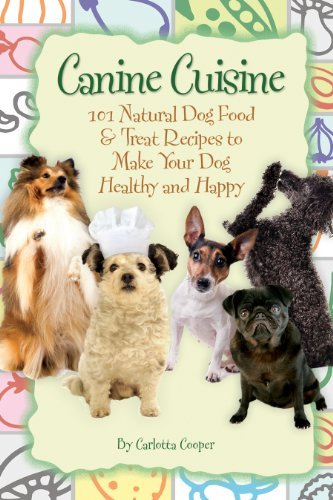 Amazon canine cuisine 101 natural dog food treat recipes to canine cuisine 101 natural dog food treat recipes to make your dog healthy and forumfinder