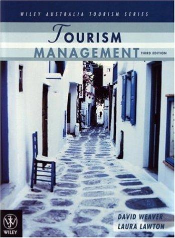 Tourism Management, Third Edition (Wiley Australia Tourism)
