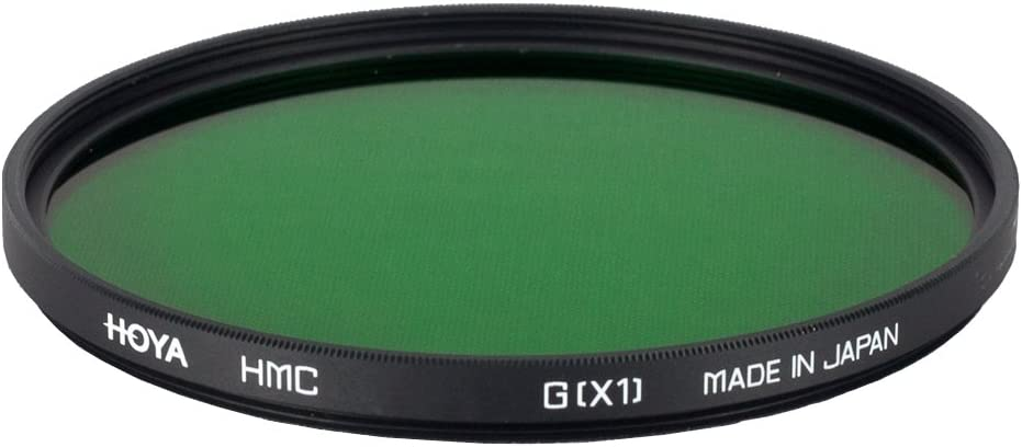 Green Hoya 77mm HMC X1 Screw-in Filter