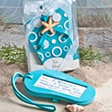 Flip flop luggage tag favors [SET OF 12]