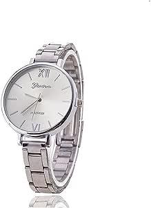 Geneva analog Watch For Women - Silver
