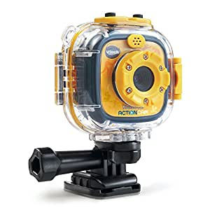 VTech Kidizoom Action Cam, Yellow/Black, Cámara, Amarillo