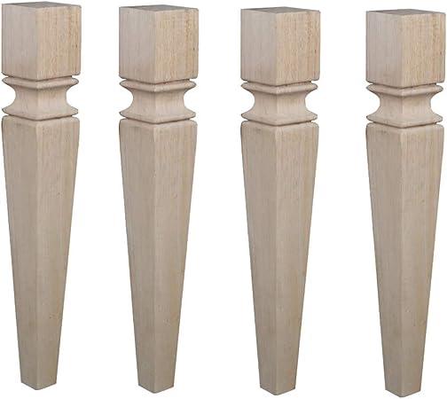 Gambe In Legno Per Tavoli.Piedini Per Mobili 4 Gambe E Piedi Per Tavolo In Legno