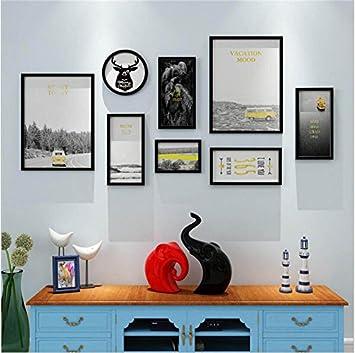 Amazon.com: HQCC - Marco de fotos para pared, decoración de ...
