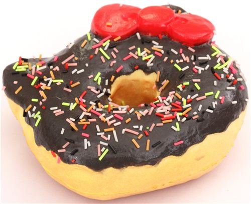 Squishy Uae : brown sprinkles Hello Kitty donut squishy charm for cellphone or bag Toy in the UAE. See ...