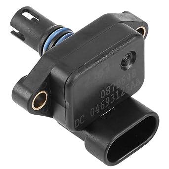KIMISS Sensor de presi/ón absoluta del colector Sensor de MAP de presi/ón de aire del colector para Mini Cooper One R50 R53 04693125AA