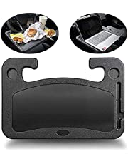 Car Steering Wheel Tray,Two-Sided Design,Portable Notebook IPad Laptop Desk,Dining Table,Car Table Food Eating Tray